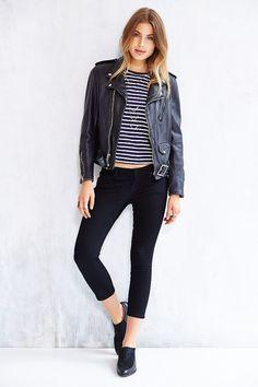 BDG Twig Cropped Low-Rise Jean - Black