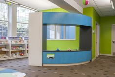 Custom Puppet Theatre created by Library Furniture Internationsl