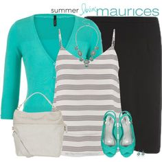 maurices Contest: Summer Lovin' by stay-at-home-mom on Polyvore featuring maurices, summerstyle, Maurices and summer2015