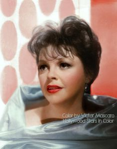 Beautiful color photo of the great Judy Garland