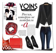 """""""YOINS"""" by mediasky ❤ liked on Polyvore featuring Paolo, Givenchy, Balenciaga, Alexander McQueen, women's clothing, women, female, woman, misses and juniors"""