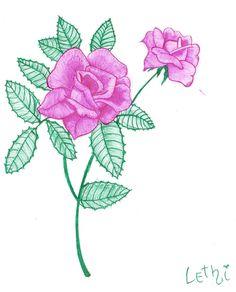 Rosas pink by LethiSteyer.deviantart.com on @deviantART