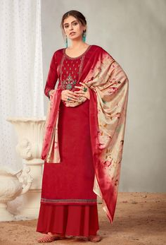 #Cotton #fabric is the #best #fabric in any #weathers, cotton #salwar #kameez is the best choice for any #girls or #womens, #Nikvik is the #bestseller of cotton salwar #suits in #USA #AUSTRALIA #CANADA #UAE #UK Red Salwar Suit, Pakistani Salwar Kameez, Pakistani Suits, Sharara Suit, Indian Suits, Palazzo Suit, Back Neck Designs, Culture, How To Dye Fabric