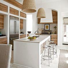 Go with the Grain - Unique Kitchen Surfaces - Coastal Living