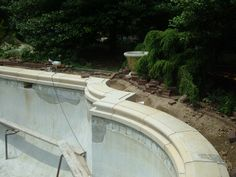 concrete pool coping - Google Search