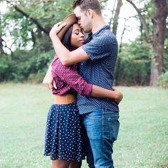 Beautiful interracial couple photography #love #wmbw #bwwm #swirl