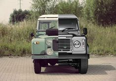 Land Rover 88 Series and Defender faces-Why We ... 5. Character