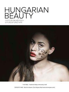 Hungarian Beauty    Photography: Balazs Koch www.balazskoch.com  Styling: David Nyiri www.davidnyiri.com  Makeup: Eva Torzsok  Model: Katrina @ VM Models
