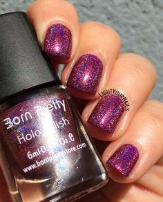 BornPretty Holo Polish 24# @bornprettystore #bornprettystore #holographic #lightyournails #nails #smalto