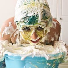 Whipped Cream Is Child's Play in the World of Sploshing