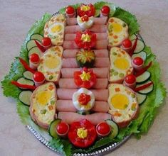 Google+ Food Platters, Russian Recipes, Holidays And Events, Avocado Toast, Catering, Sushi, Bacon, Decoration, Appetizers