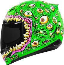 Icon Airmada Sensory Glow In The Dark Motorcycle Crash Helmet... #MOBrules