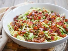 You guys! I am in love with this bacon and shredded Brussels sprouts salad. It'snaturally sweet, deliciously salty and perfectly crunchy. It's made with a few strips of nitrate-free and sugar-free bacon, pumpkin seeds, toasted walnuts, naturally sweet dried fruit and Brussels sprouts. I used chopped apricots for my dried fruit and love the flavor…   Read More