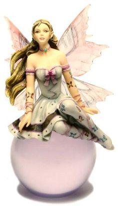 """""""Lavender Serenade-Bubble Rider"""" Figurine by Nene Thomas"""