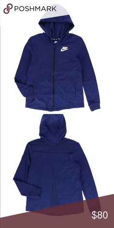 Nike women jacket Made with soft jersey fabric and zippered hand pockets  with simple understated design 7f731ae6d