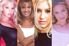 Teen pop explosion, specifically Britney Spears, Christina Aguilera, Mandy Moore, and Jessica Simpson