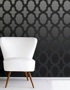 Pochoir marocain Allower motif mur chambre par OMGstencils sur Etsy