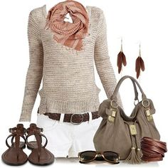 Classy Outfits   Coral Skinny Jeans - Fashionista trends