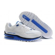 info for c6394 88f7f Hommes Nike Air Max LTD Blanc Bleu
