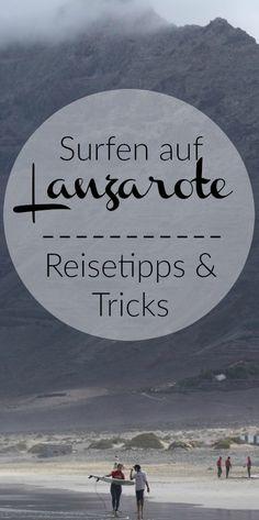 Just Go, Adventure Travel, Surfing, Hiking, World, Movie Posters, September, German, Lanzarote