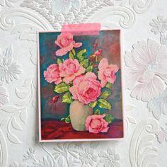 Rozen felroze - Postkaart (eennnieuwavontuur)