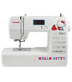 Janome Hello Kitty 18750 Sewing Machine on sale!