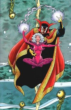 Doctor Strange and Clea by Blevkins