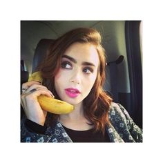 Blog de la Tele Lily Collins revista ELLE Canadá Chica de portada ❤ liked on Polyvore featuring lily collins, lily, people and pictures