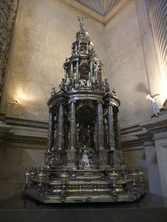 CUSTODIA OF SEVILLE CATHEDRAL (By Juan de Arfe. Late 16th Century)   in Seville's cathedal