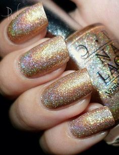 More holiday fun - Sparkles OPI