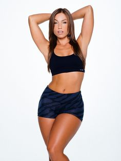 THICK JUICY THIGHS of exotic Latina #Fitness model Nicole Mejia : if you LOVE Health, Exercise & #Fitspiration - you'll LOVE the #Motivational designs at CageCult Fashion: http://cagecult.com/mma