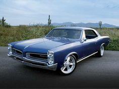 Blue 1966 Pontiac LeMans