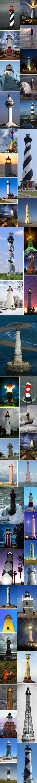 50 Amazing & Beautiful Lighthouses from Around the World | (10 Beautiful Photos)