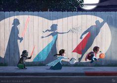 """Shadow Play""  by Mauricio Abril http://www.mauricioabril.com/"