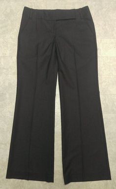 NWT women's The Limited $80 Drew Fit Black pinstripe career pants sz 6 or 36x33 #TheLimited #DrewFit