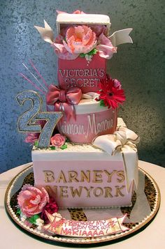 Victoria's Secret Cake!
