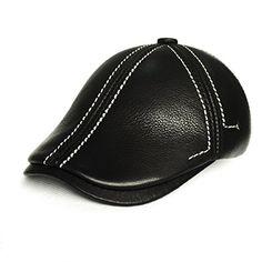 Leather Hats, Cowhide Leather, Designer Caps, Driving Cap, Dope Hats, Winter Hats For Men, Men's Hats, Newsboy Cap, Men Design