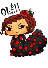 """Jaleo meaings: """"Olé!"""" First, and most common of course, is Olé. Despite the way it's written most Flamencos tend to put the accent on the """"o"""", and it can be shouted, murmured or whispered. There's no need to wait until the end of a performance, use it whenever you feel the need. It can also be used interchangeably with """"Alé!"""" http://www.ambienteflamenco.co.uk/resources.php"""