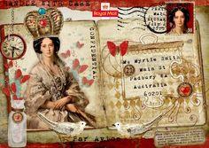 pictures of mail art envelopes | mail art envelope | Art Journal Three