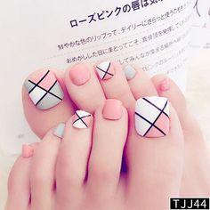 Pedicure Nail Art, Toe Nail Art, Manicure, Nail Nail, Flower Nail Designs, Toe Nail Designs, Nails Design, Feet Nails, My Nails