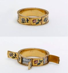 A lovely and unusual ring with secret compartments. Love the idea of a secret compartment