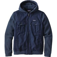Patagonia - Better Sweater Hybrid Hooded Fleece Jacket - Men's - Navy Blue