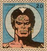 Brother Voodoo Marvel Value Stamp #20. #BrotherVoodoo #MarvelValueStamp