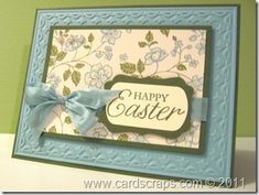 stampin up easter card