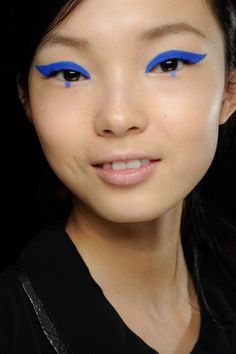 Three Trends You'll Always See at Fashion Week: Winged Eyes