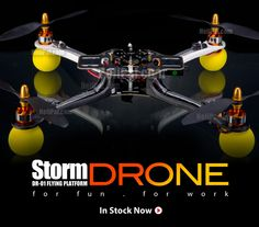 For Fun, for work - Storm Drone FF Ready to Fly version