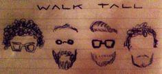 WALK TALL @ Festival de Jazz de Girona   Drawing by Júlia Jolie Julie — with Gilles Estoppey, Ramon Prats, Giampaolo Laurentaci and Enric Peinado Cardona