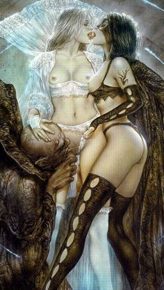 Image result for luis royo art prohibited
