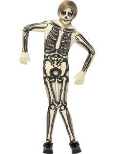 combinaison seconde peau enfant squelette