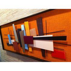 Mid-Century Modern Abstract Art